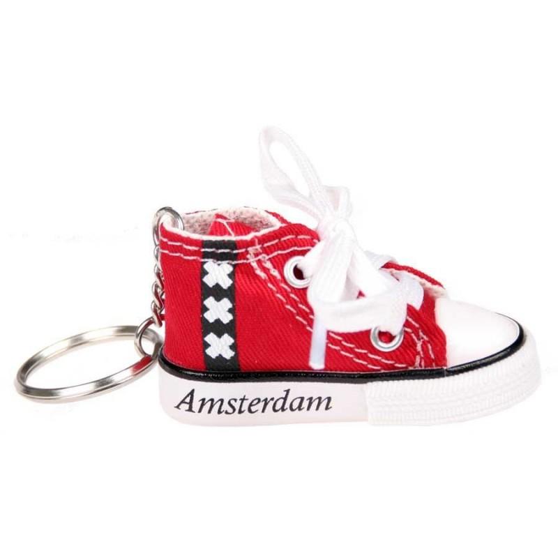 Textiel Gymp Rood - XXX Amsterdam - Sleutelhanger
