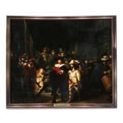 Famous Painters Nightwatch - Rembrandt - 3D MDF