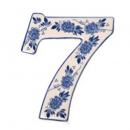 Huisnummer 7 - Delfts Blauw