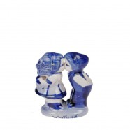 Kissing Couple Kissing Couple 4cm - Holland - Delft Blue