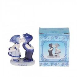 Kussend Paar 6cm - Holland - Delfts Blauw