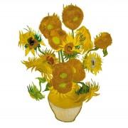 Flat Flowers - Originals Raamstickers Van Gogh - Zonnebloemen