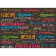 Magneten Zwart Amsterdam