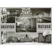 Magneten Zwart en Wit Amsterdam Holland