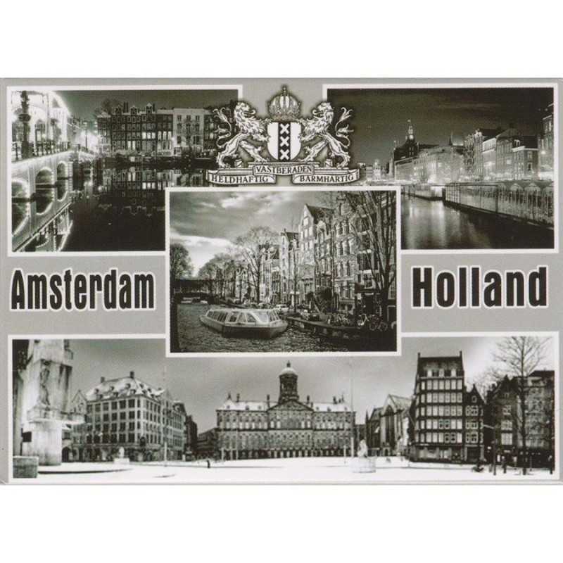 Magnets Black and White Amsterdam Holland