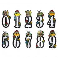 Gietijzer Huisnummer 0 - Gietijzer