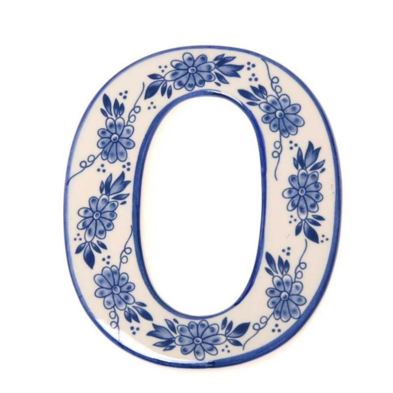 Huisnummer 0 - Delfts Blauw