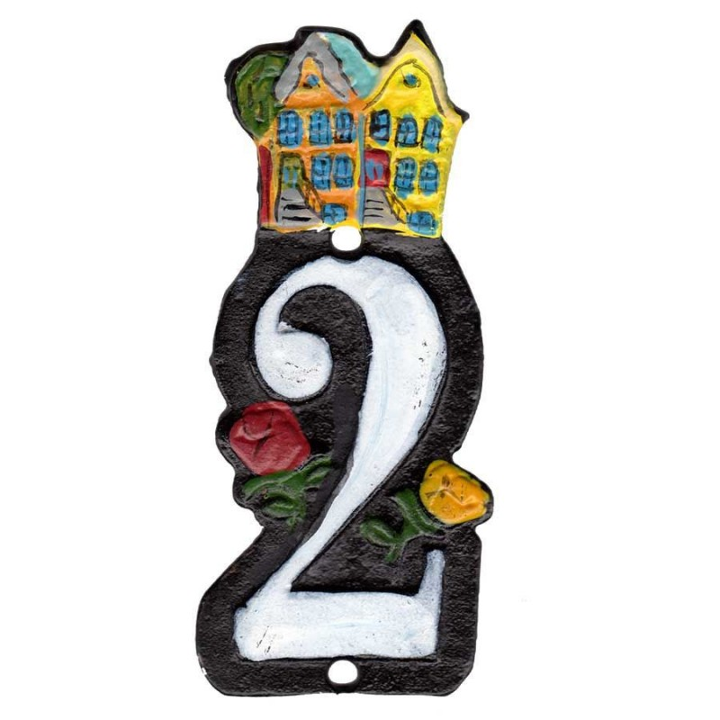 Huisnummer 2 - Gietijzer