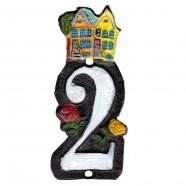 Gietijzer Huisnummer 2 - Gietijzer