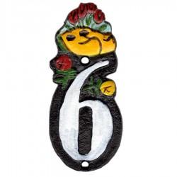 Huisnummer 6 - Gietijzer
