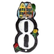 Gietijzer Huisnummer 8 - Gietijzer
