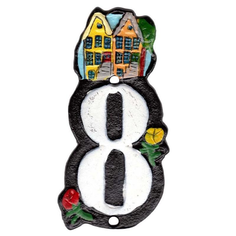 Huisnummer 8 - Gietijzer