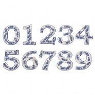 Delfts Blauw Huisnummer 7 - Delfts Blauw