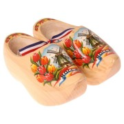 Footwear Varnished - Tulip - Wooden Shoes