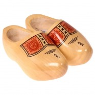 Footwear Transparant Band - Wooden Shoes