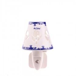 Nachtlampje - Wandlampje Tulpen - Delfts Blauw - Nachtlampje