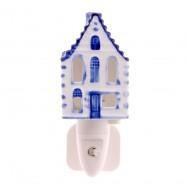 Canalhouse Night Light - EU-plug - Delft Blue