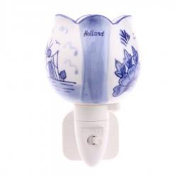 Night Light - Wall Light Tulip - Delft Blue - Night Light