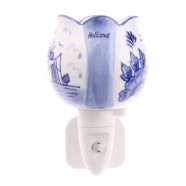 Night Light - Wall Light Tulip - Delft Blue - Night Light