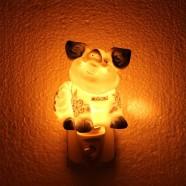 Night Light - Wall Light Pig - Delft Blue - Night Light
