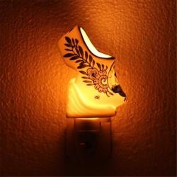 Nachtlampje - Wandlampje Klompje - Delfts Blauw - Nachtlampje