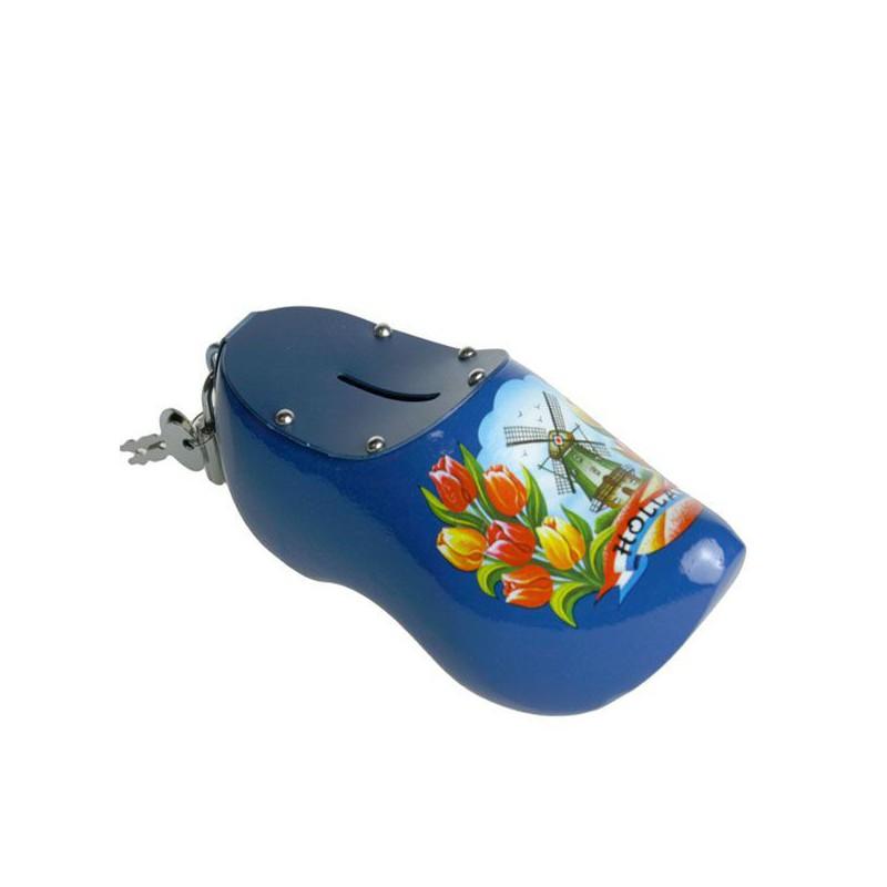 Blauw Tulp - Spaarpot