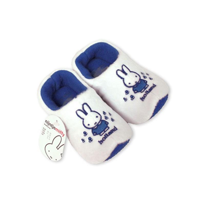 Klomppantoffels Baby Nijntje sloffen Delfts Blauw