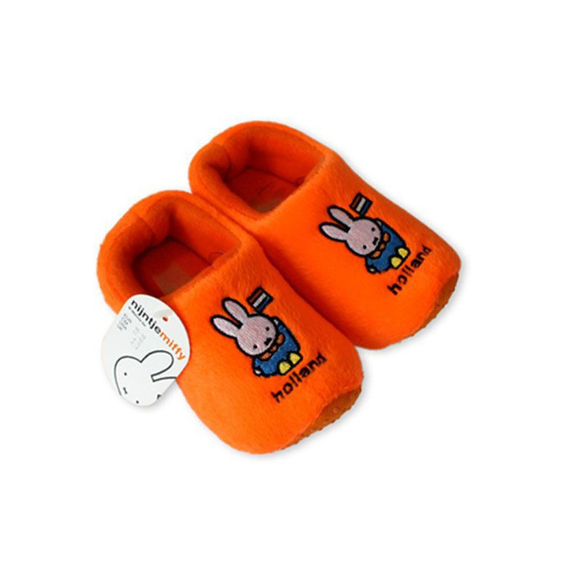 Baby Nijntje sloffen Oranje
