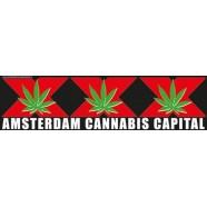 Car Bumper Stickers Amsterdam Cannabis Capital