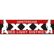 Car Bumper Stickers Amsterdam Red Light District