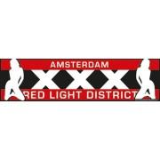 Auto Bumper Stickers Amsterdam Red Light District