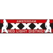 Car Bumper Stickers Amsterdam Red Light District