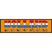 Auto Bumper Stickers Holland fiets