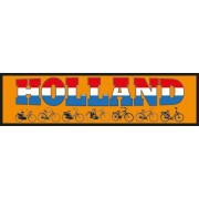 Auto Bumper Stickers Holland fiets