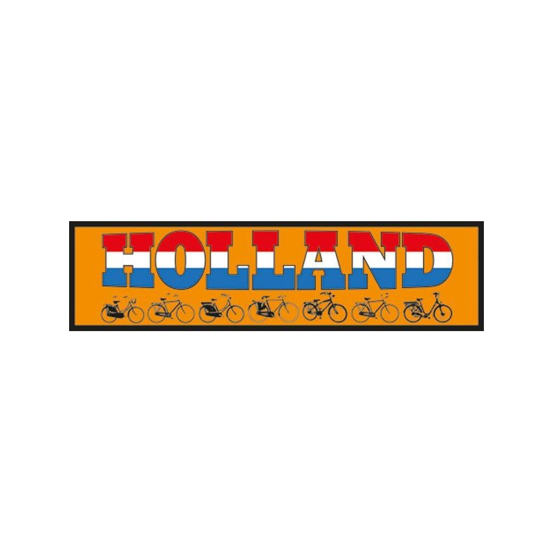 Car Bumper Stickers Holland bike