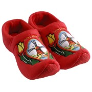 Clogs Slippers Tulip Red Windmill - Clog Slipper