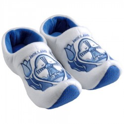 Clogs Slippers Tulip Delft Blue Windmill - Clog Slipper