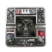 Ashtrays Square Holland Tin