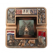 Ashtrays Square Holland Copper