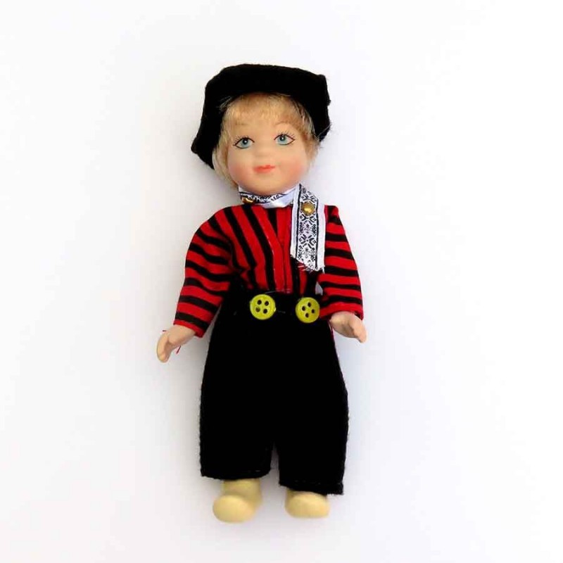 Male - 13cm - Traditional Holland Costume