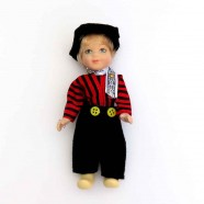 Poppen  Man - 13 cm - Traditionele Hollandse Klederdracht