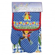 Kitchen textiles  Kitchen Set - Windmill Blue Dot