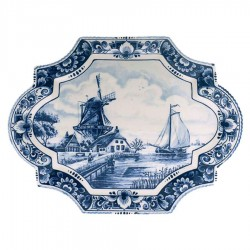 Applique - Wall Plates - Delft Blue • Souvenirs from Holland