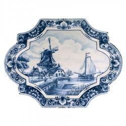 Applique - Wandborden - Delfts Blauw • Souvenirs from Holland