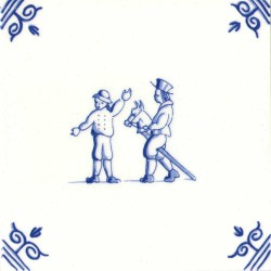 Old Dutch Children's Games - Tiles | Souvenirs From Holland