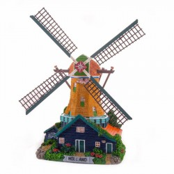 Electrical Windmills Light Rotating Wings | Souvenirs from Holland