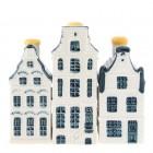 Delfts Blauw - Mini Grachtenhuis