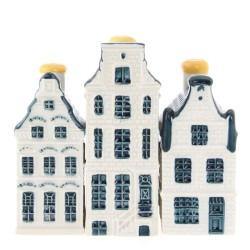 Delft Blue - Mini - Canal Houses | Souvenirs From Holland