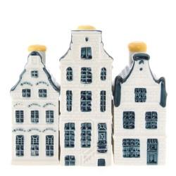 Delfts Blauw - Mini - Grachtenhuizen | Souvenirs From Holland