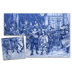 Tegel Tableau - Tegels Souvenirs • Souvenirs from Holland